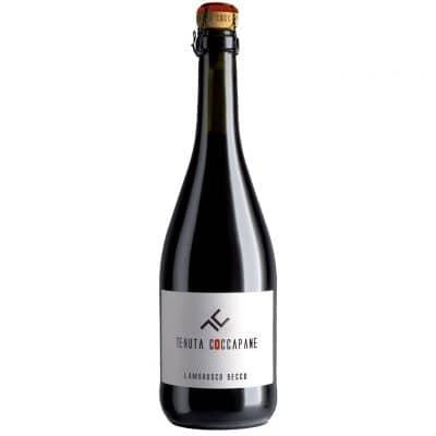 Lambrusco secco vino rosso Emilia Romagna della cantina Tenuta Coccapane