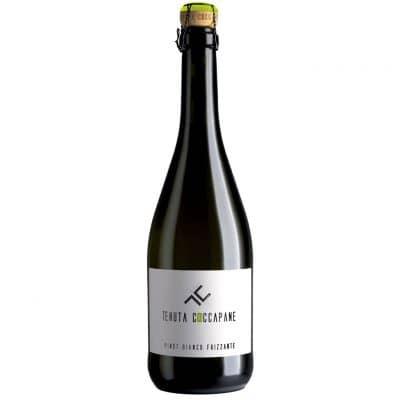 Pinot bianco frizzante vino bianco Emilia Romagna della cantina Tenuta Coccapane