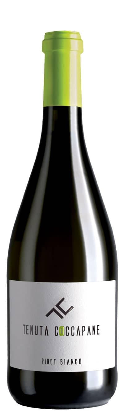 Pinot bianco vino bianco fermo Emilia Romagna della cantina Tenuta Coccapane
