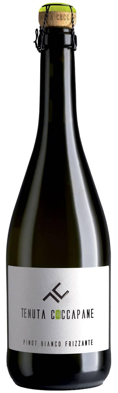 Pinot bianco vino frizzante Emilia Romagna della cantina Tenuta Coccapane