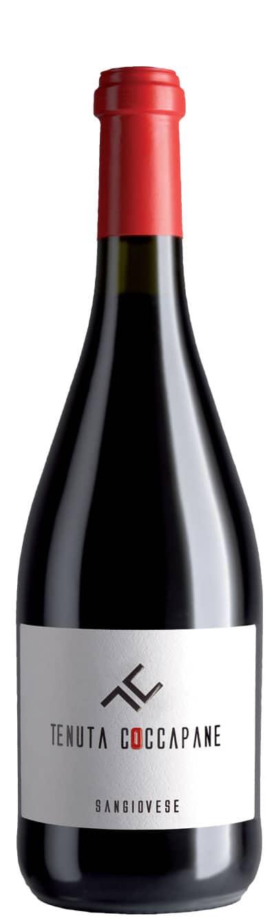 Sangiovese DOC vino rosso Emilia Romagna della Cantina Tenuta Coccapane